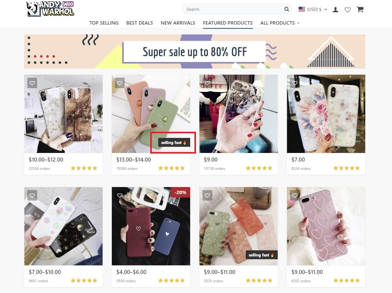 FOMO for online store