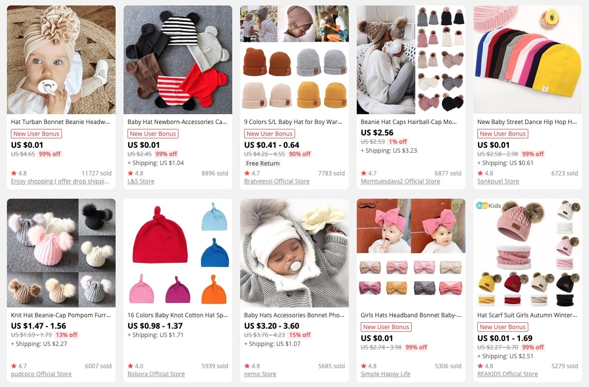 a picture showing why it's popular to buy children's clothing online