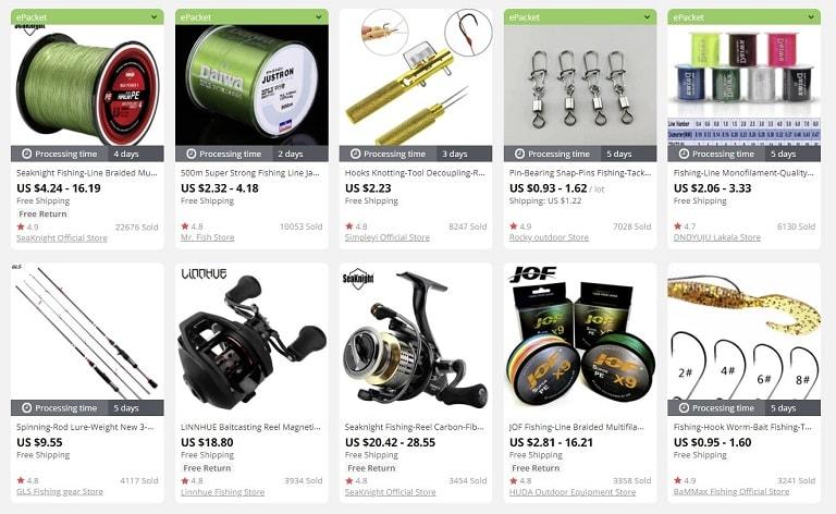 dropship fishing accessories