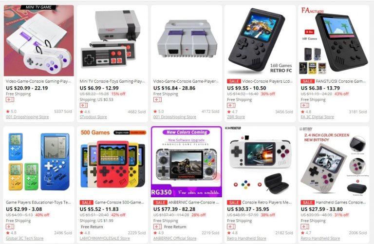 dropship gaming products