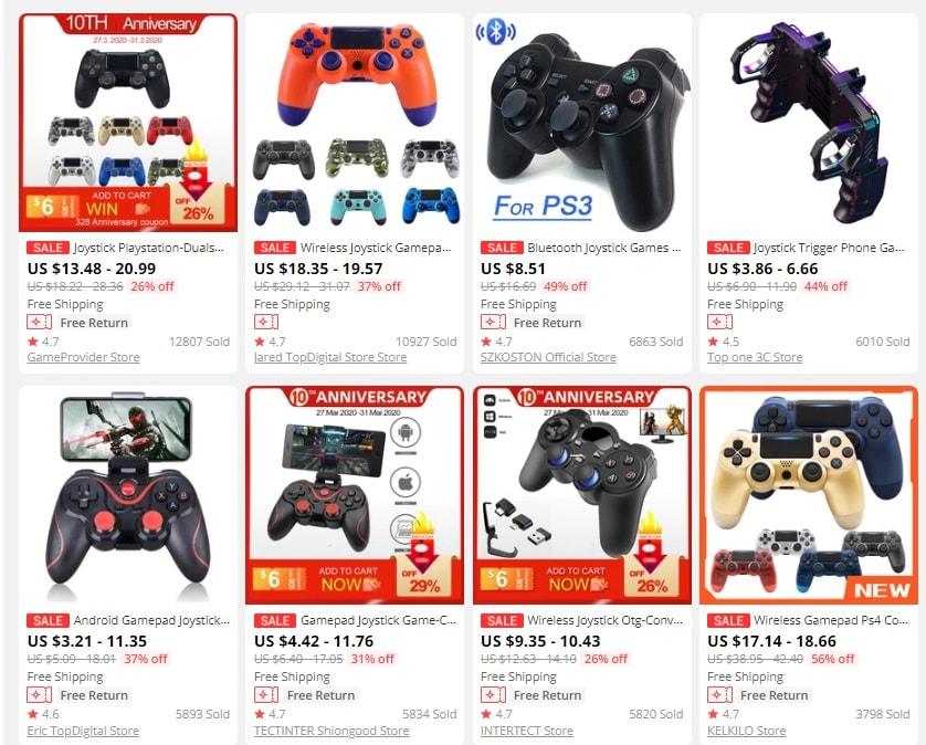 dropship gaming product