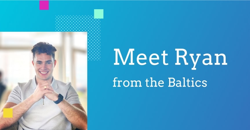 A millennial entrepreneur from the Baltics shares his success story
