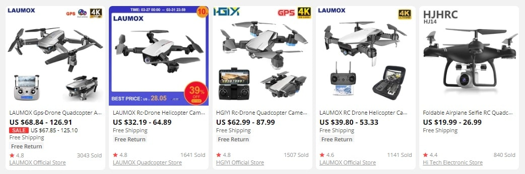 dropshipping drones