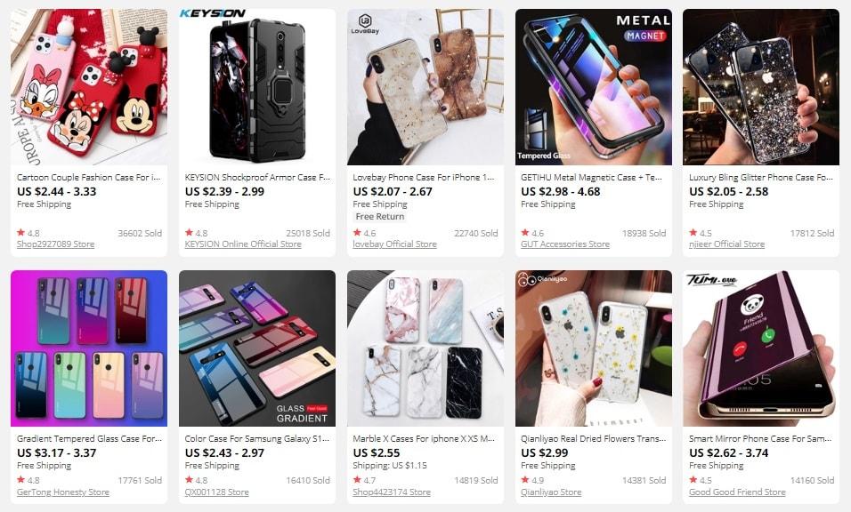 dropship samsung phone cases