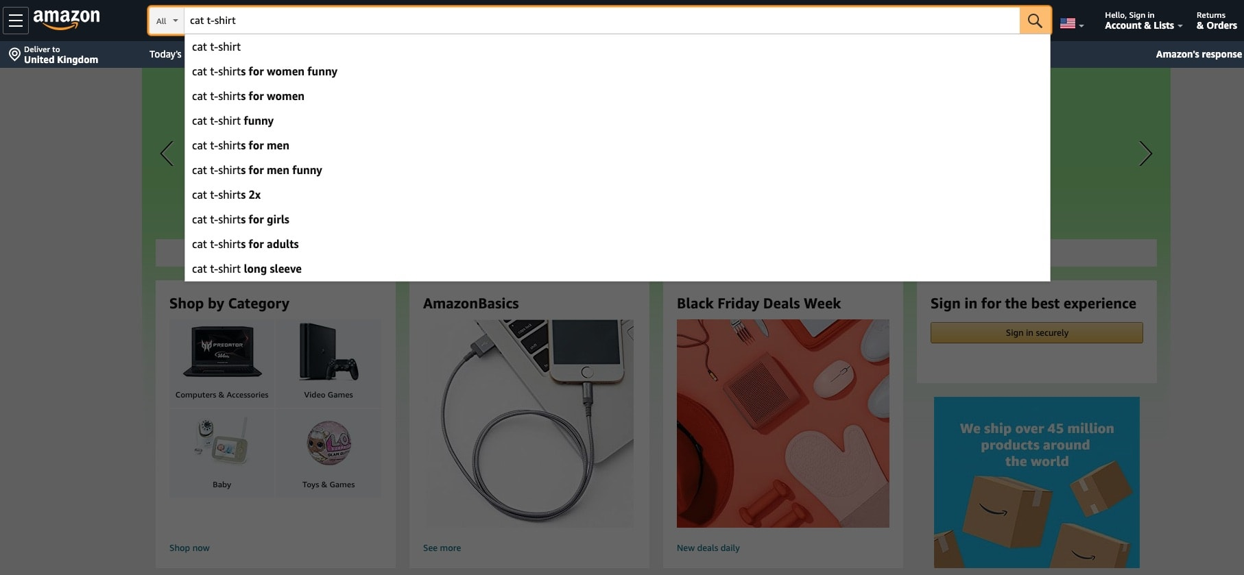 a picture showing how to find niche products on amazon