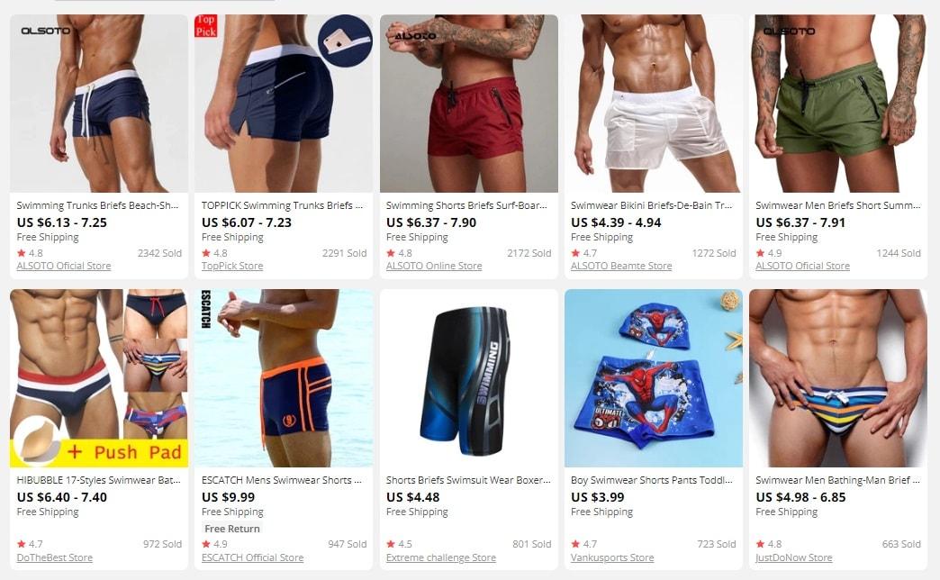 dropship men's clothes