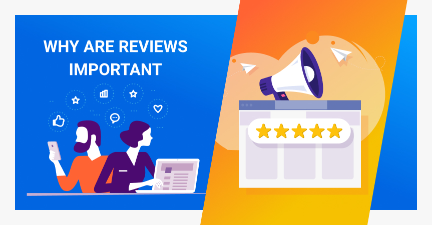 Why are reviews important for businesses? Positive or negative, they can change the way people see your products and services.