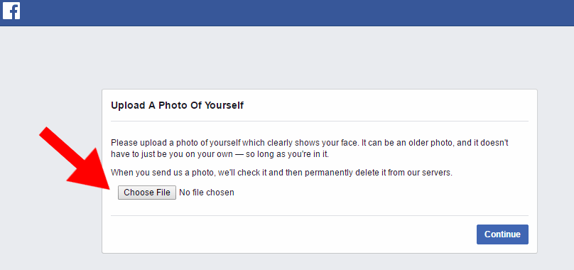 Screenshot of a Facebook message telling your personal page has been suspended