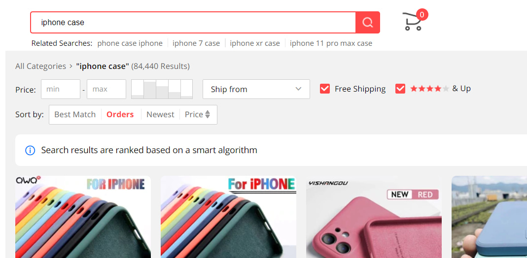 A method of finding profitable dropshipping products on AliExpress.