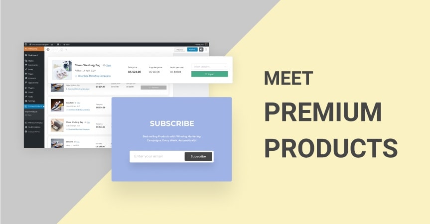 Premium Products: Your WEEKLY Source Of The Hottest Items - And Ads That Sell!