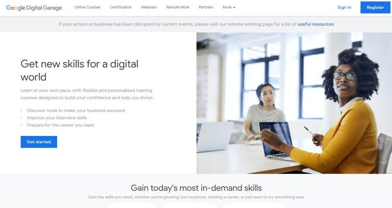 digital marketing courses for free