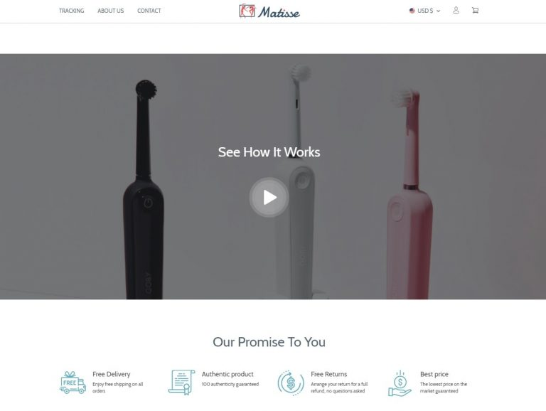 theme for single-product store