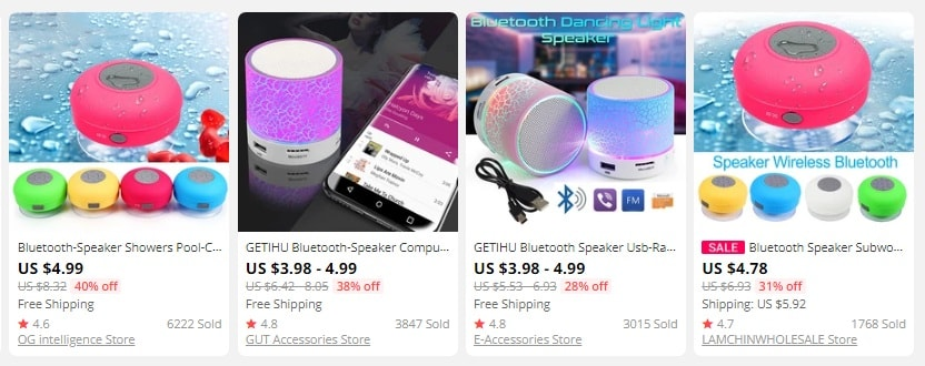 dropship speakers