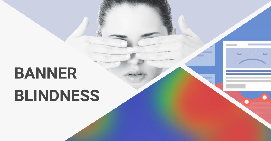 Because of banner blindness, site visitors simply don't notice ads. However, there are ways to fight this syndrome.