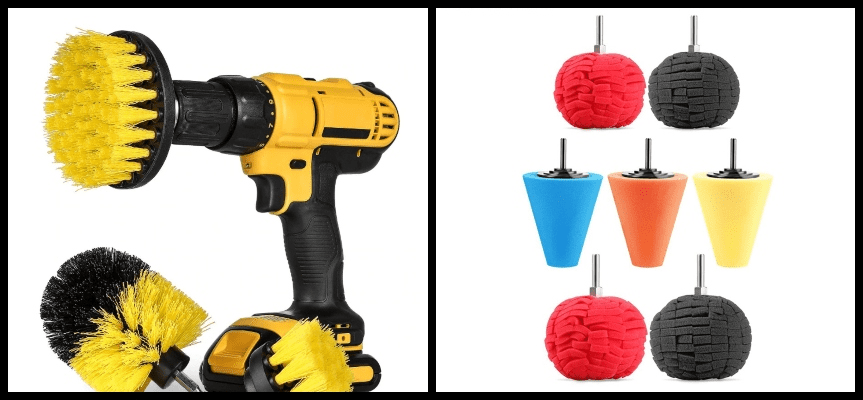 cross-selling drill and attachments