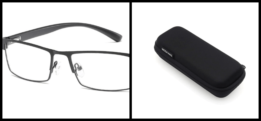 cross-selling glasses and case (complement products)