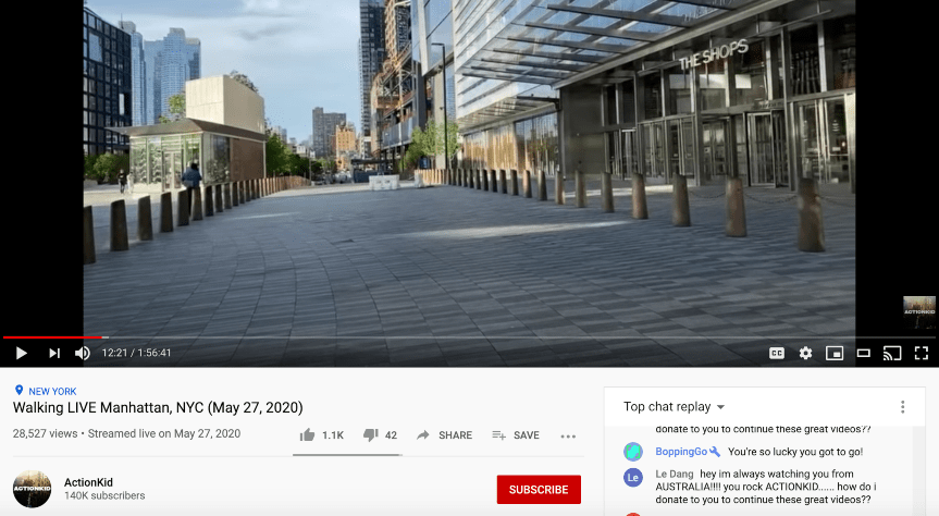 The hottest YouTube trends now: Virtual Tours/Walkthroughs