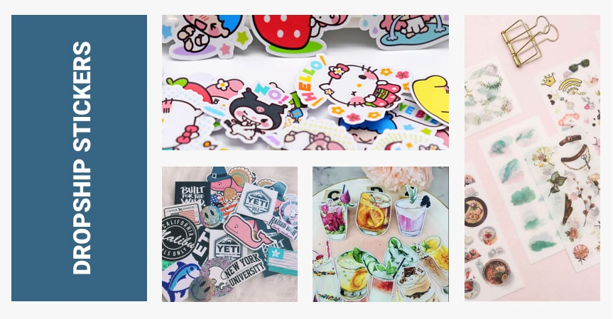 dropship stickers