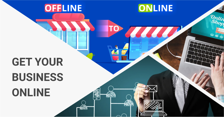 Get your business online by combining it with the dropshipping business model.