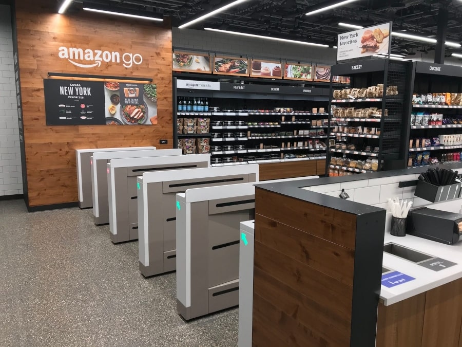 Amazon Go store example
