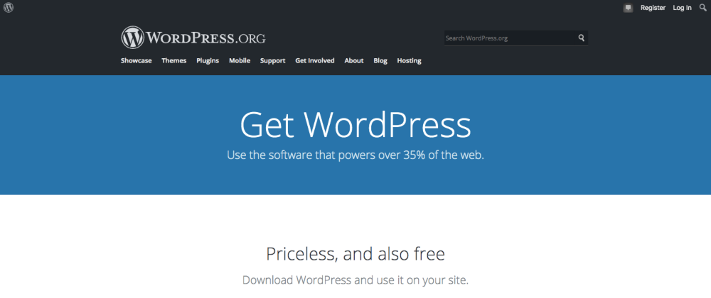 WordPress is a suitable platform for your drop servicing initiatives