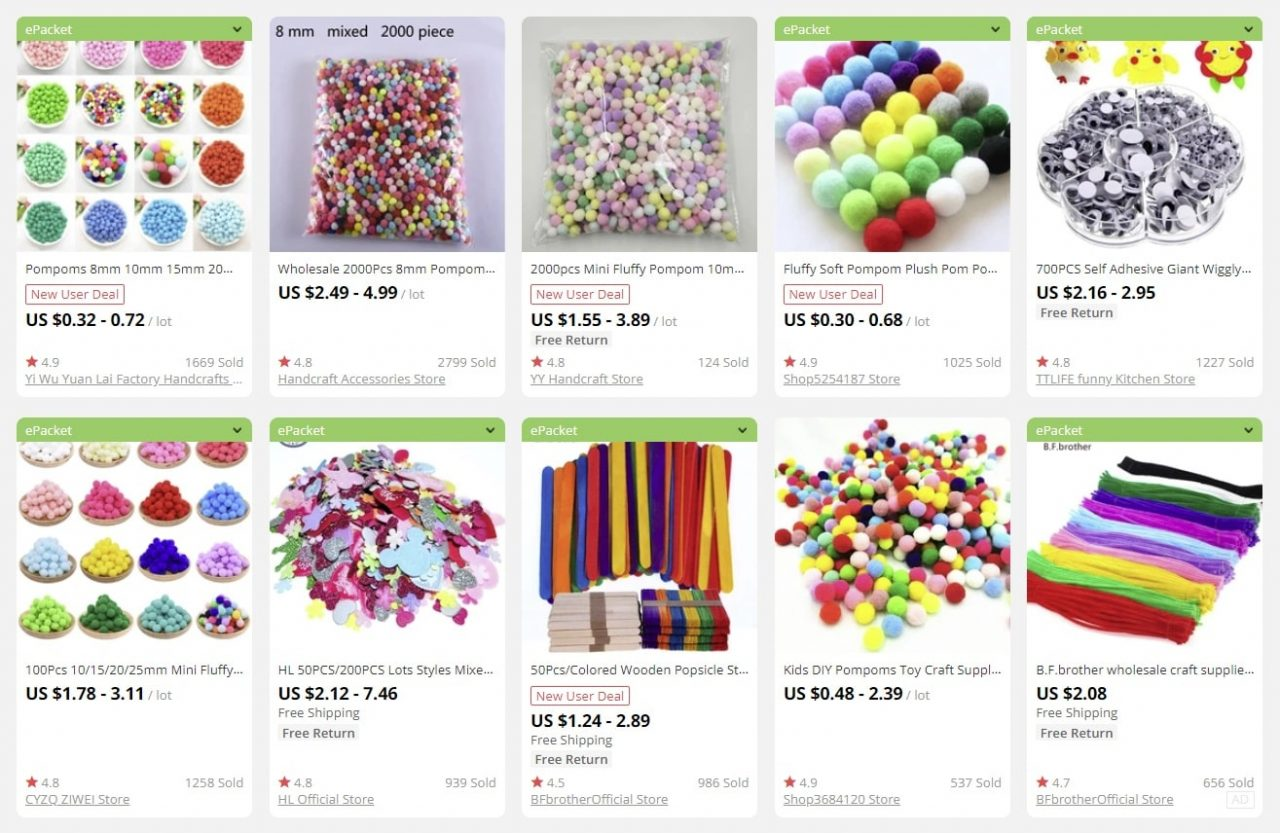 craft products to sell