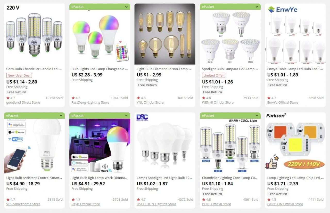 lights to sell online