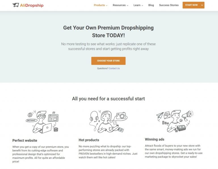 go beyond domestic dropshipping