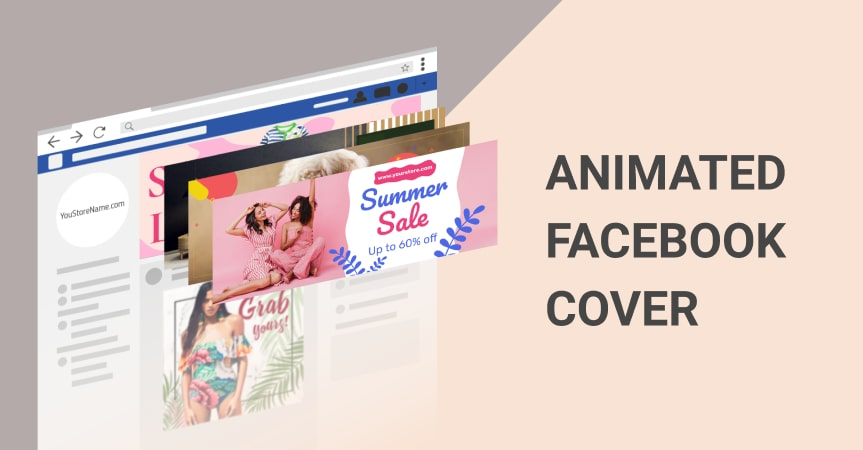 A header image for article Animated Facebook Cover that shows Facebook Covers