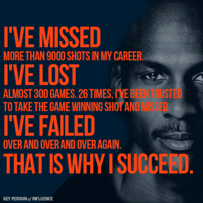 Motivational quotes for entrepreneurs by Michael Jordan
