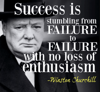 Motivational quotes for entrepreneurs by Winston Churchill