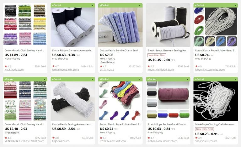 a picture showing lots of products to sell in bulk