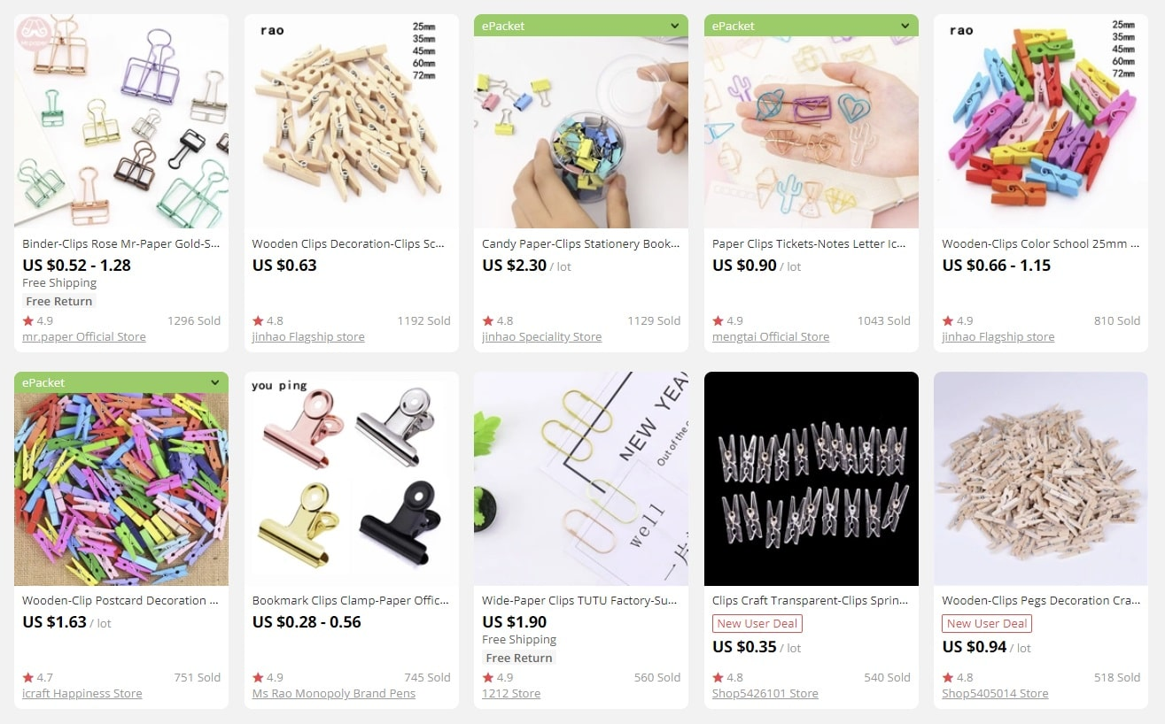 stationery is a perfect example of bulk items for sale