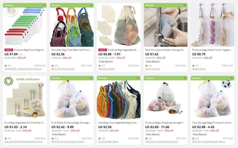 dropship eco bags