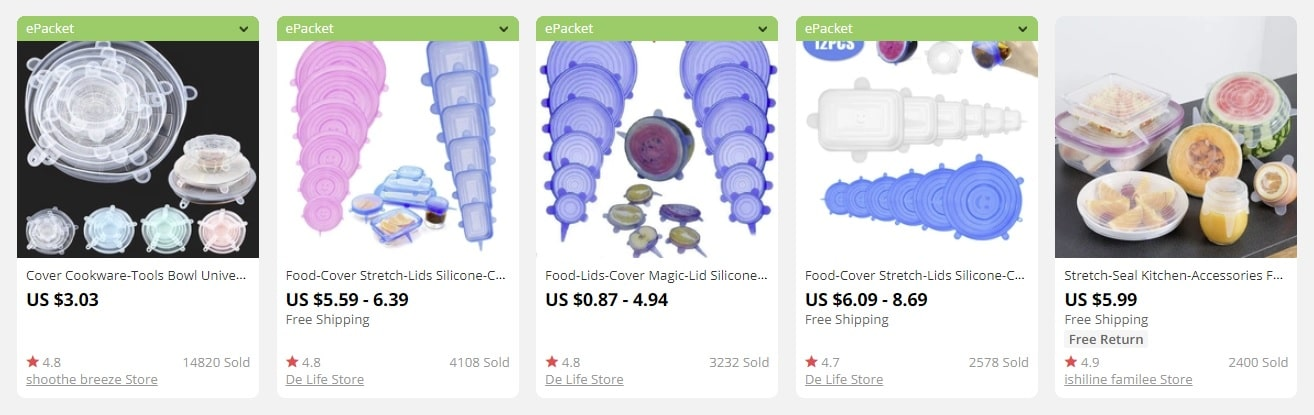a picture showing food covers and their prices