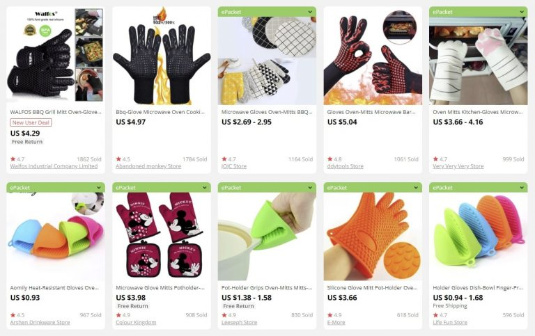 a picture showing examples of bulk items for sale