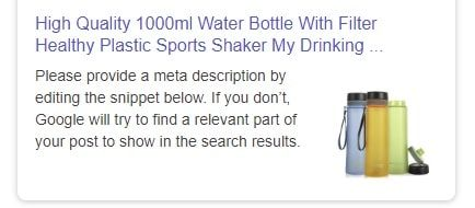 a picture showing why it's important to consider seo snippets