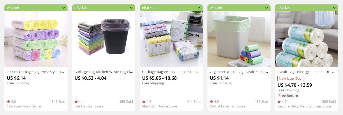 a picture showing what to sell in bulk