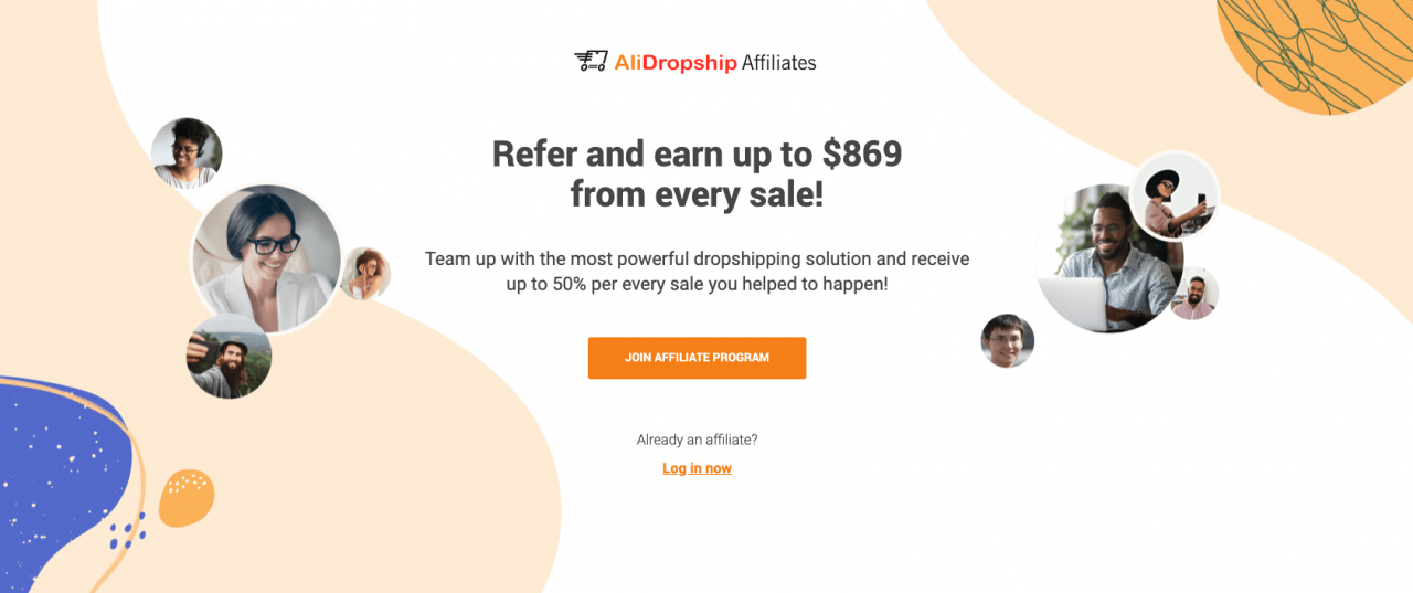a picture showing the benefits of AliDropship Affiliate Program