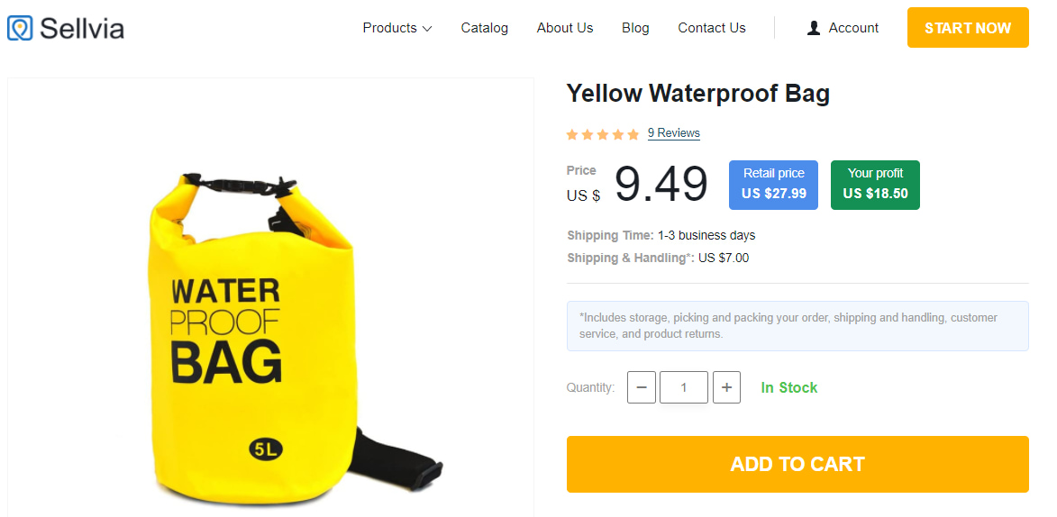 Waterproof bag for hiking, camping, survival, and other outdoor activities.