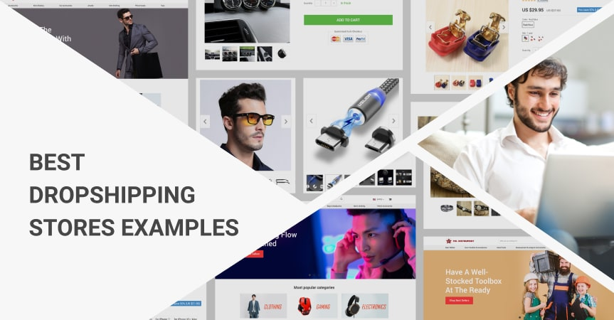 Dropshipping Examples of successful stores