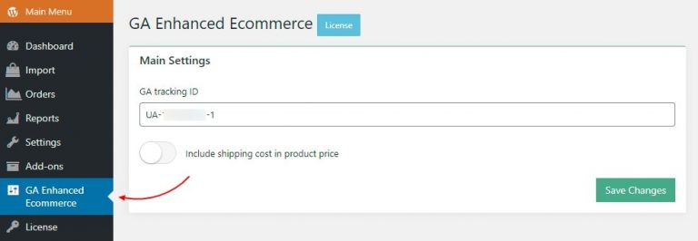 Connecting analytics with GA Enhanced Ecommerce