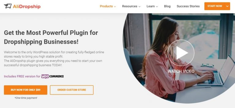 how to build an online store from scratch with AliDropship Plugin
