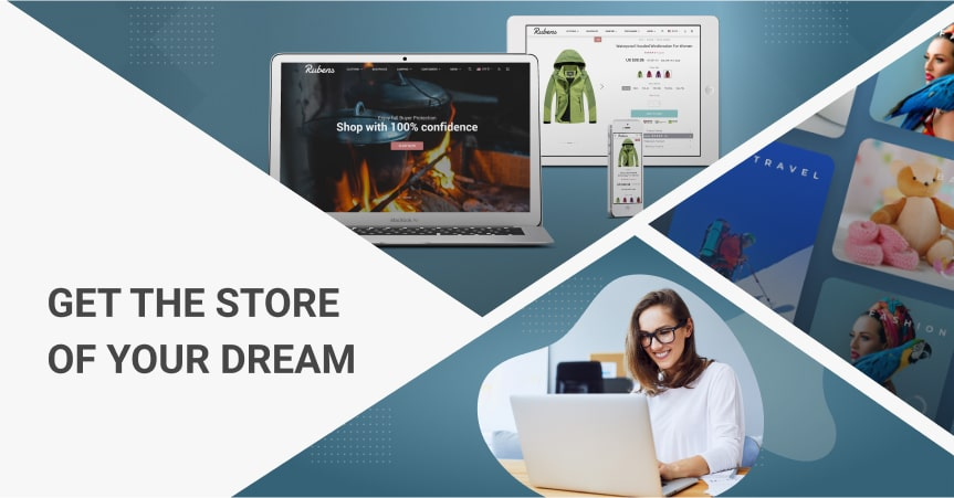 a cover of the article on how to set up an online store