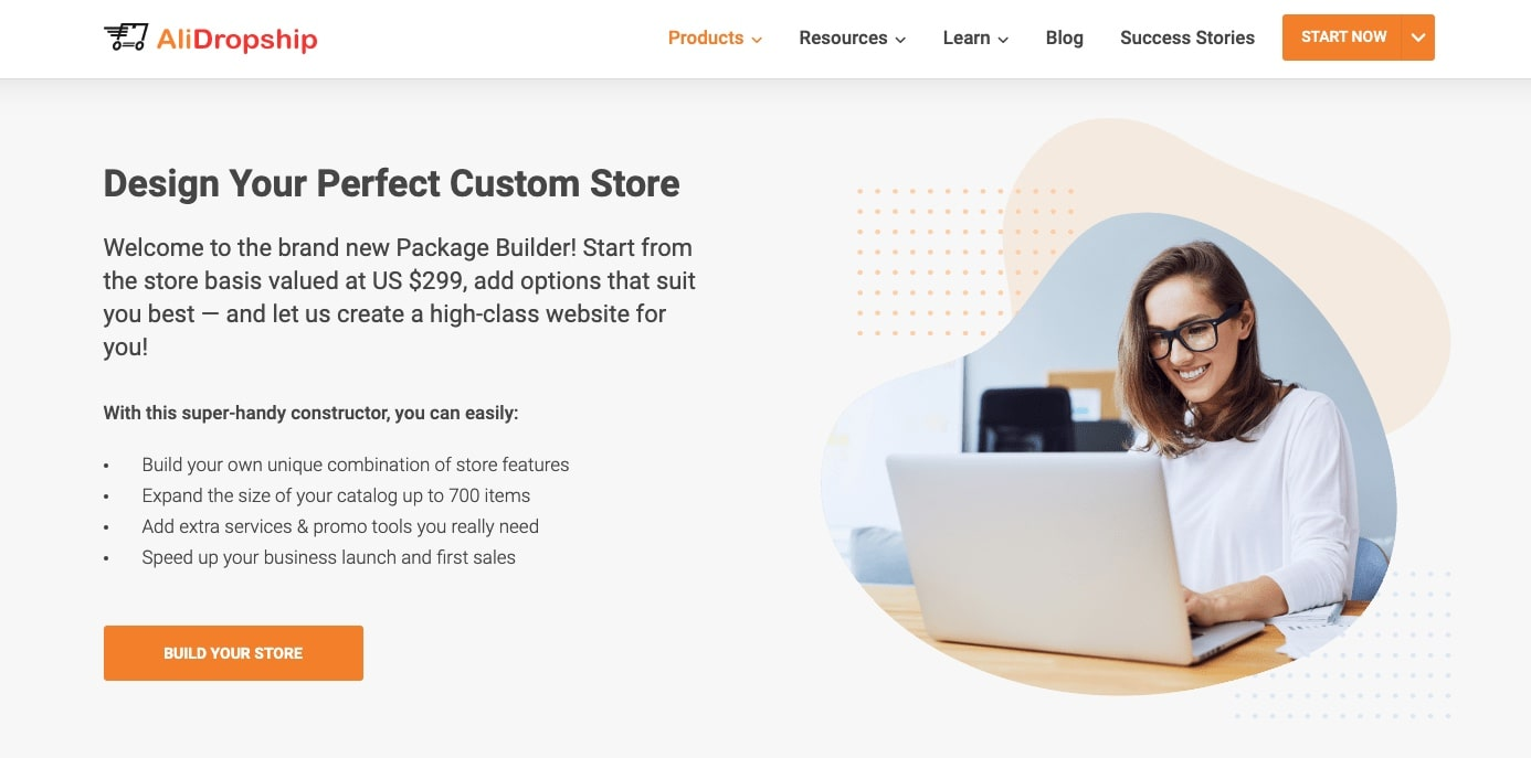 an image that shows how to set up an online store of your dream
