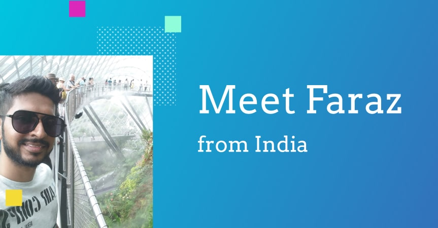 Faraz from India, a new turnkey ecommerce website owner, shares his story