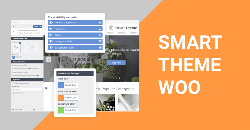 Smart Theme Woo: A Highly Customizable WooCommerce Theme For High-Converting Online Stores