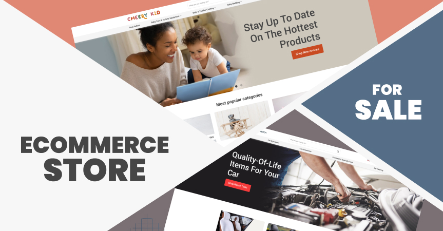 Looking for an ecommerce store for sale? Here are our best-performing dropshipping stores you can purchase!