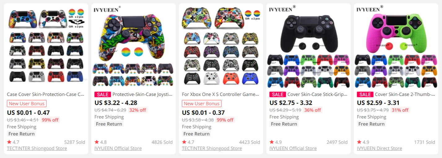 Looking for ideas to dropship video games accessories? Consider gaming controller skins.