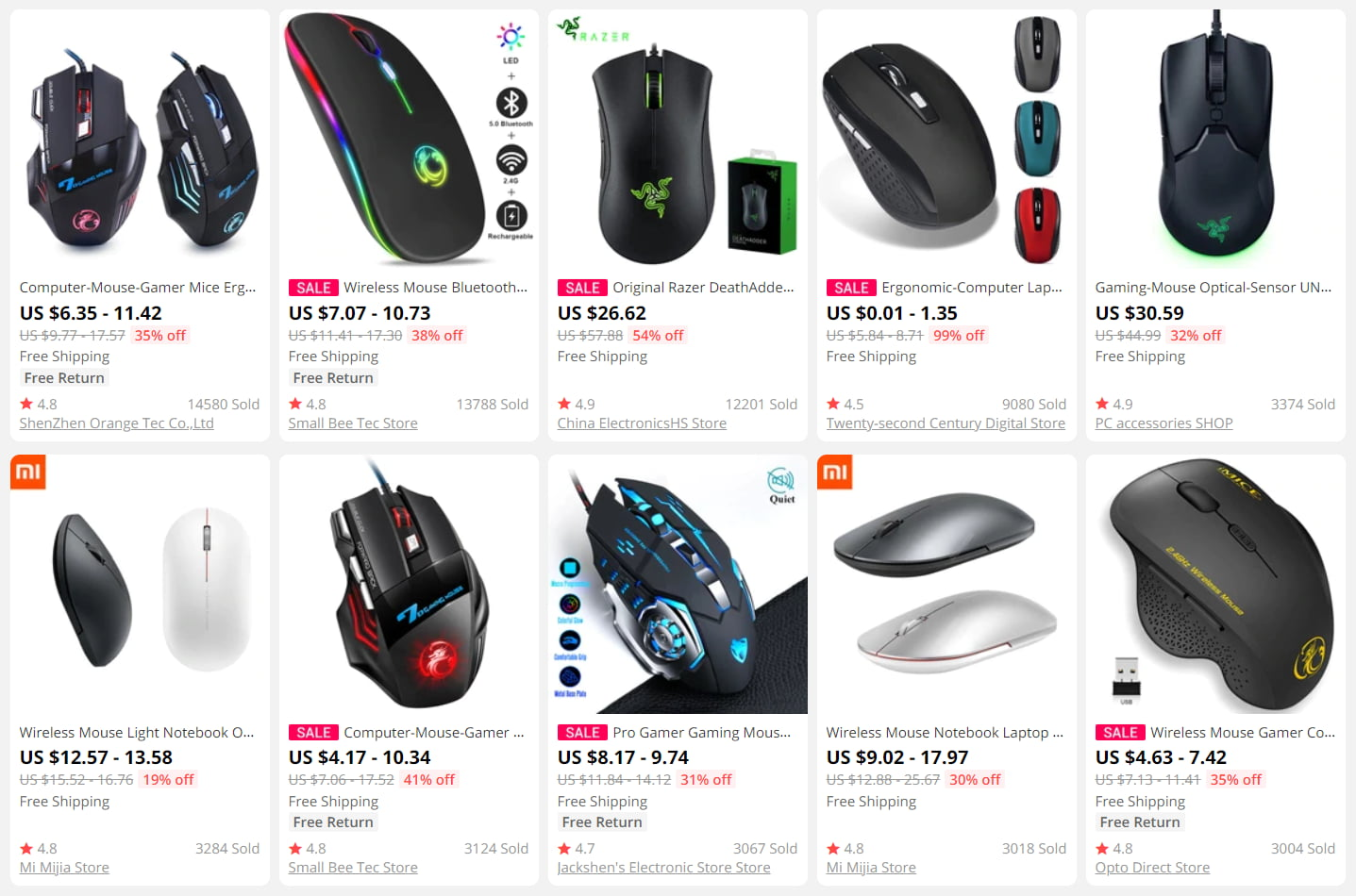 Gaming mice are a must for those who want to dropship video games gear